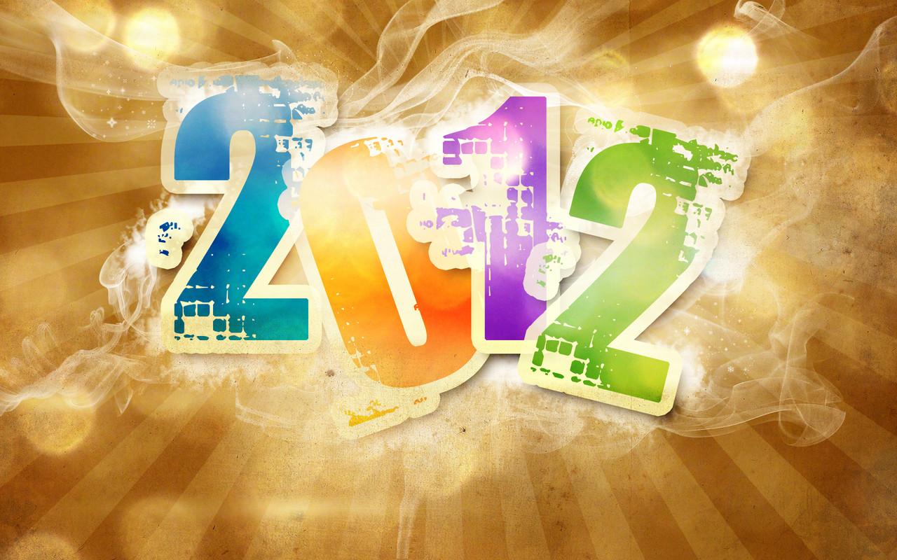 imagem de fundo wallpaper 2012 ano novo new year