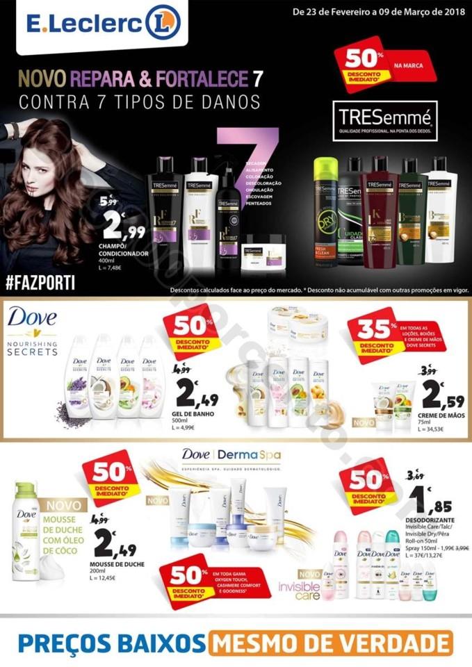 Novo Folheto E-LECLERC Extra Promoções de 23 fev
