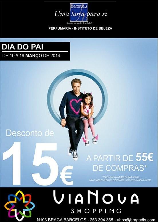 15€ de desconto | PARFUMERIE | Vianova - Braga até 19 março