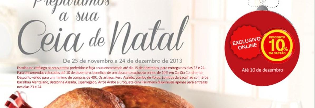 Novo folheto | CONTINENTE | Take away