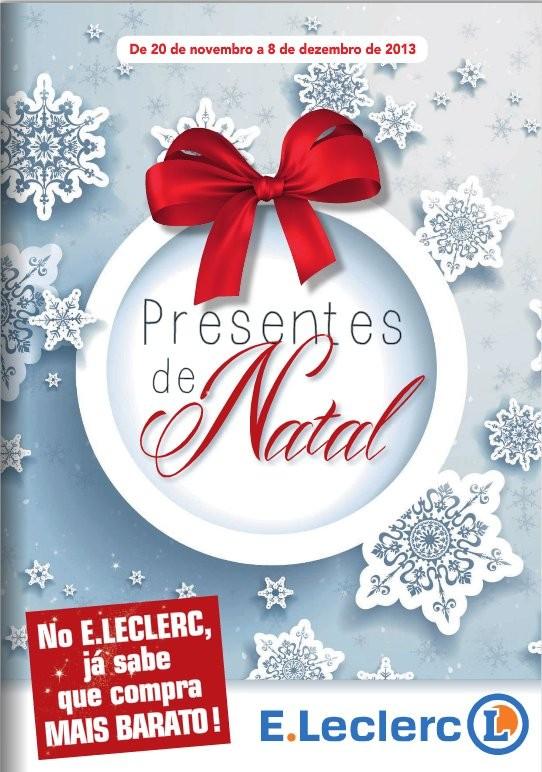 Antevisão Folheto / Catalogo | E-LECLERC | Presentes de Natal, de 20 novembro a 8 dezembro