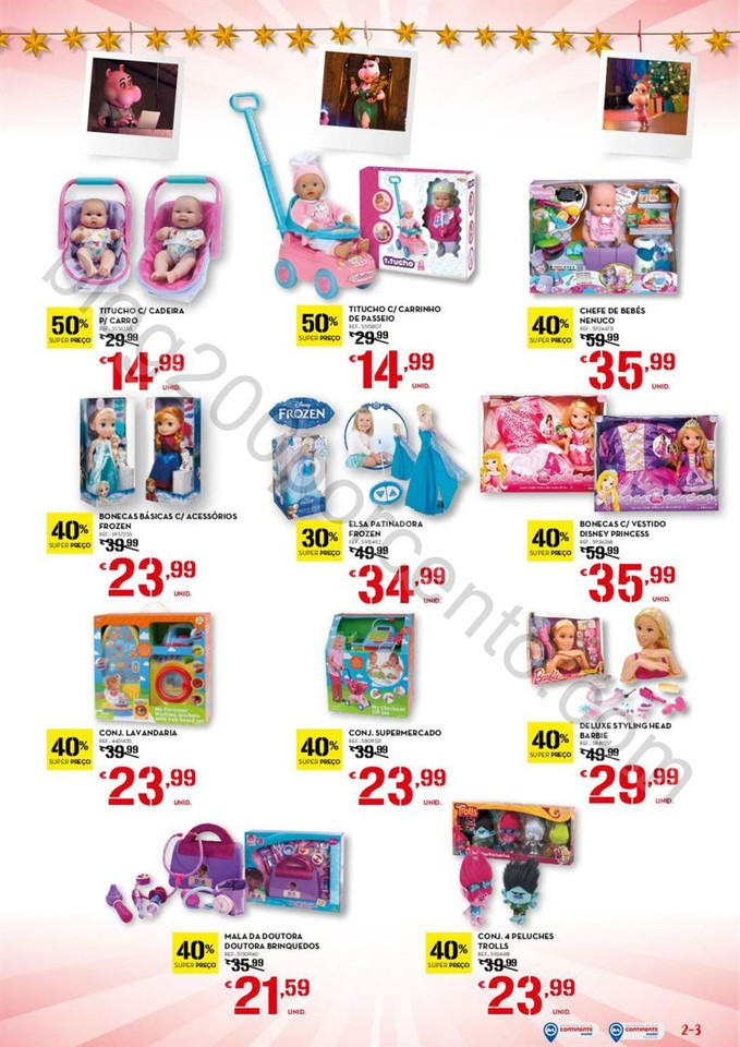 Antevisão Folheto CONTINENTE Brinquedos de 29 nov