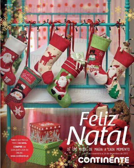 Novo Folheto | CONTINENTE | Catalogo de Natal até 24 dezembro