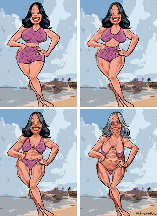 os 60 anos do Bikini