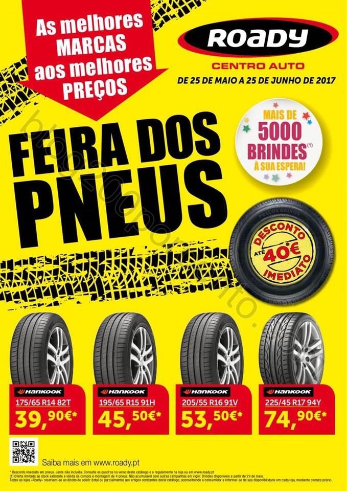 Antevisão Folheto ROADY Promoções de 25 maio a