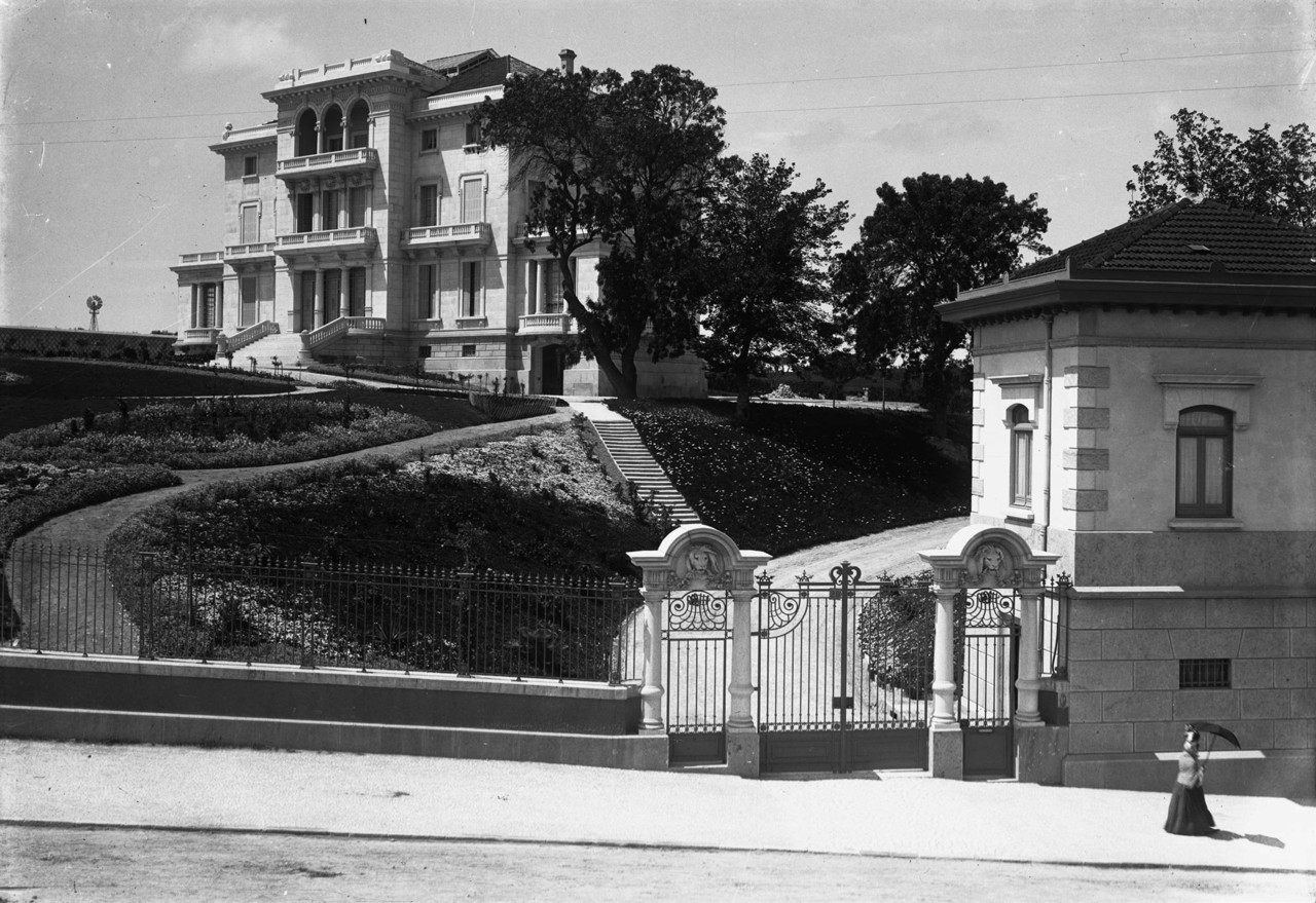 Palacete Henrique Monteiro Mendonça, c. 1909, fot