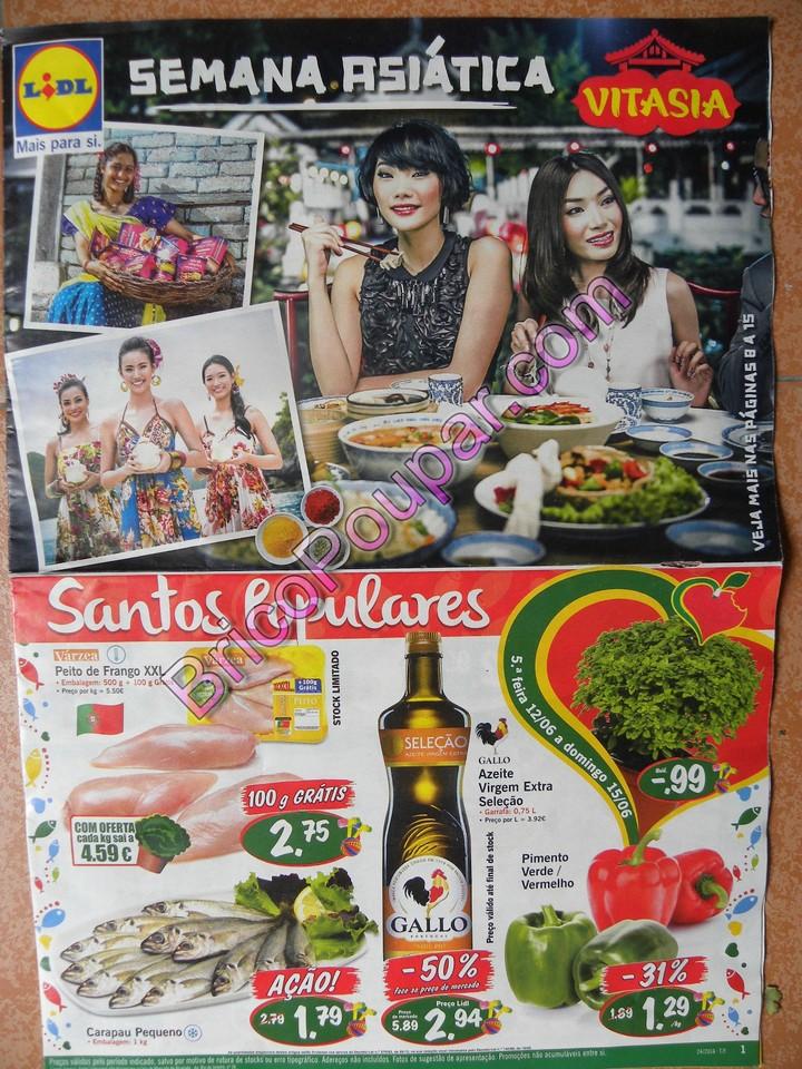 Antevisão Novo Folheto Lidl - a partir de 12 de junho - Dica da Semana - Parte1