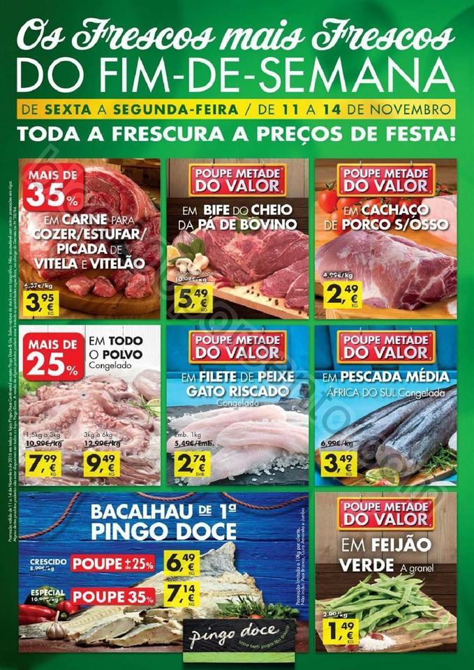 Antevisão Folheto PINGO DOCE Fim de semana de 11