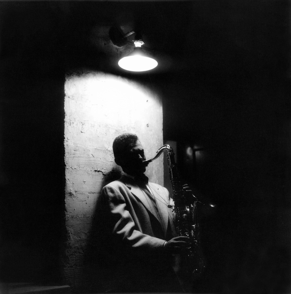 Stan Getz, playing at Cosmo Alley, Los Angeles, 19