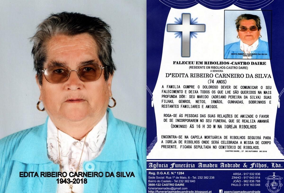 FOTO RIP  DE EDITA RIBEIRO CARNEIRO DA SILVA-74 AN