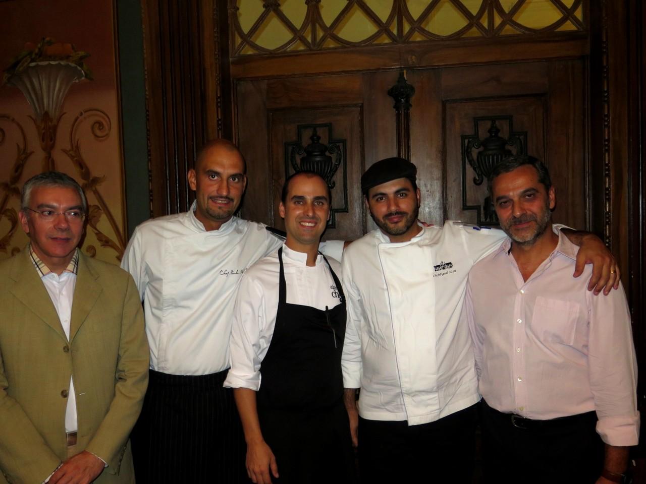 Paulo Teixeira de Carvalho, Paulo Matias, Bruno Rocha, Miguel Silva, José Gomes
