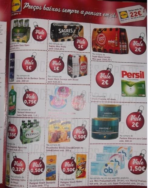 Vales de desconto   LIDL   Revista Dica, 22€ de desconto