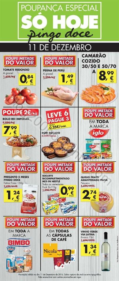 Antevisão Folheto PINGO DOCE promoções só hoje