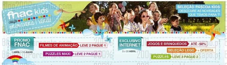 Promoções   FNAC   Pascoa - Fnac Kids