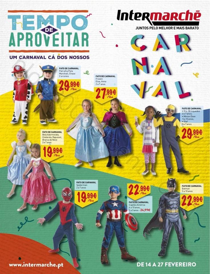Antevisão Folheto INTERMARCHÉ Carnaval promoçõ