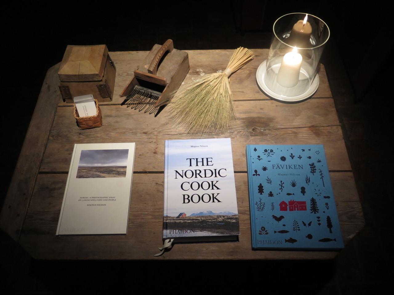 Os três livros de Magnus Nilsson