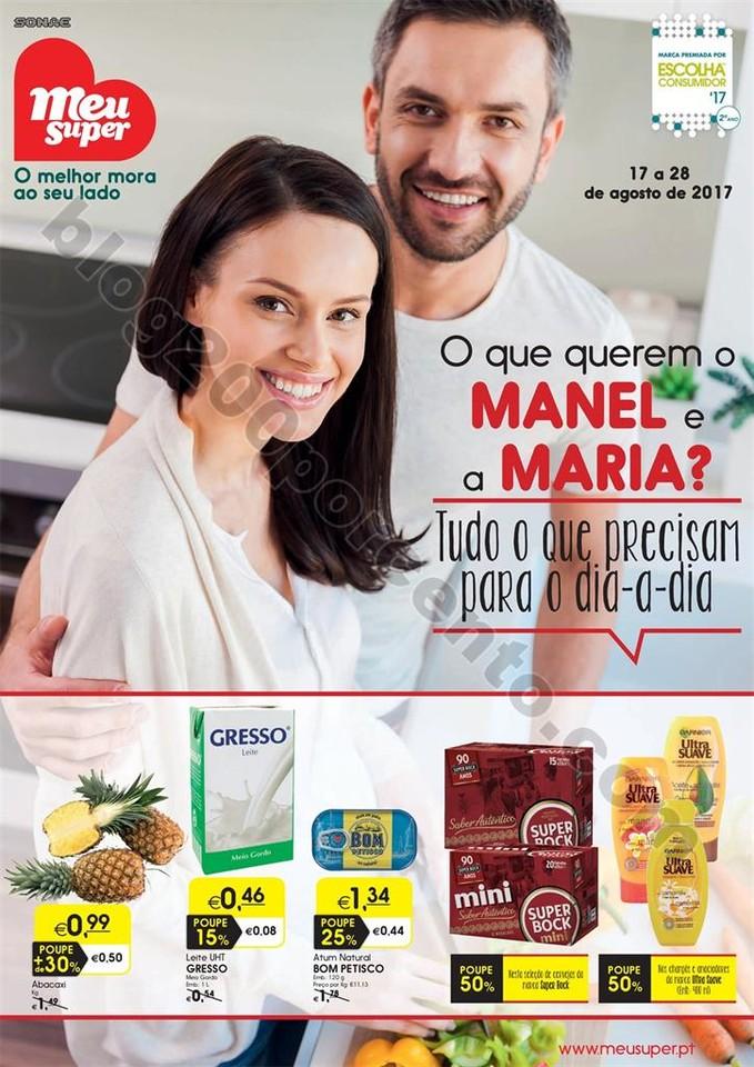 Antevisão Folheto MEU SUPER Promoções de 17 a 2