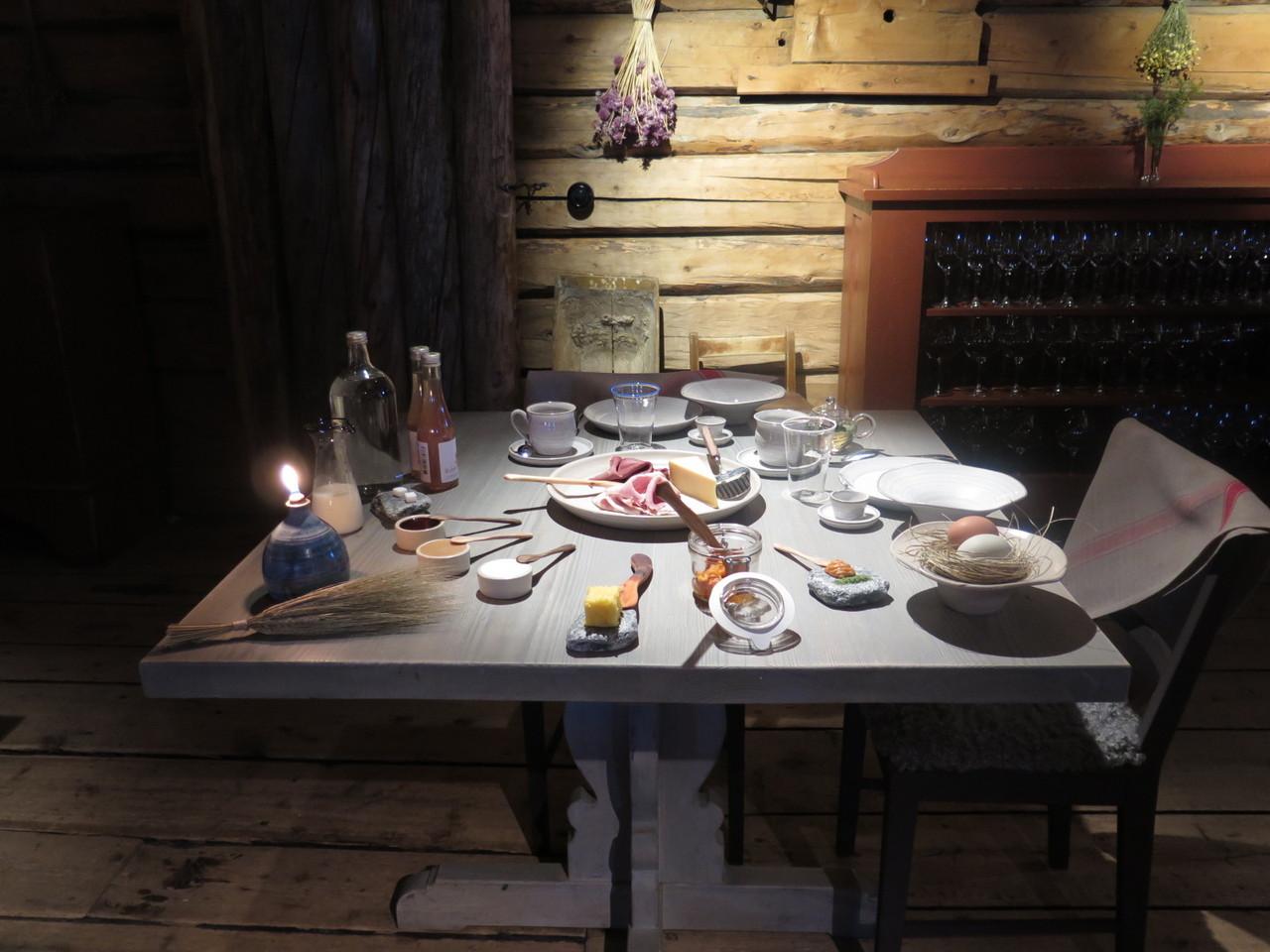 Pequeno-almoço no FÄVIKEN