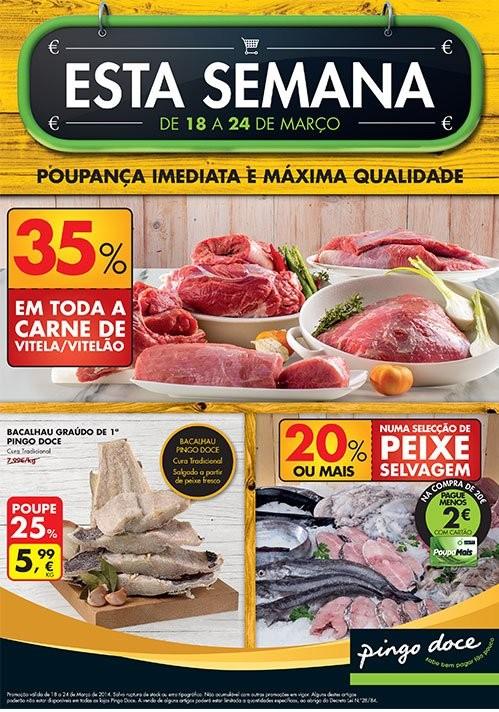 Novo Folheto | PINGO DOCE | de 18 a 24 março - online