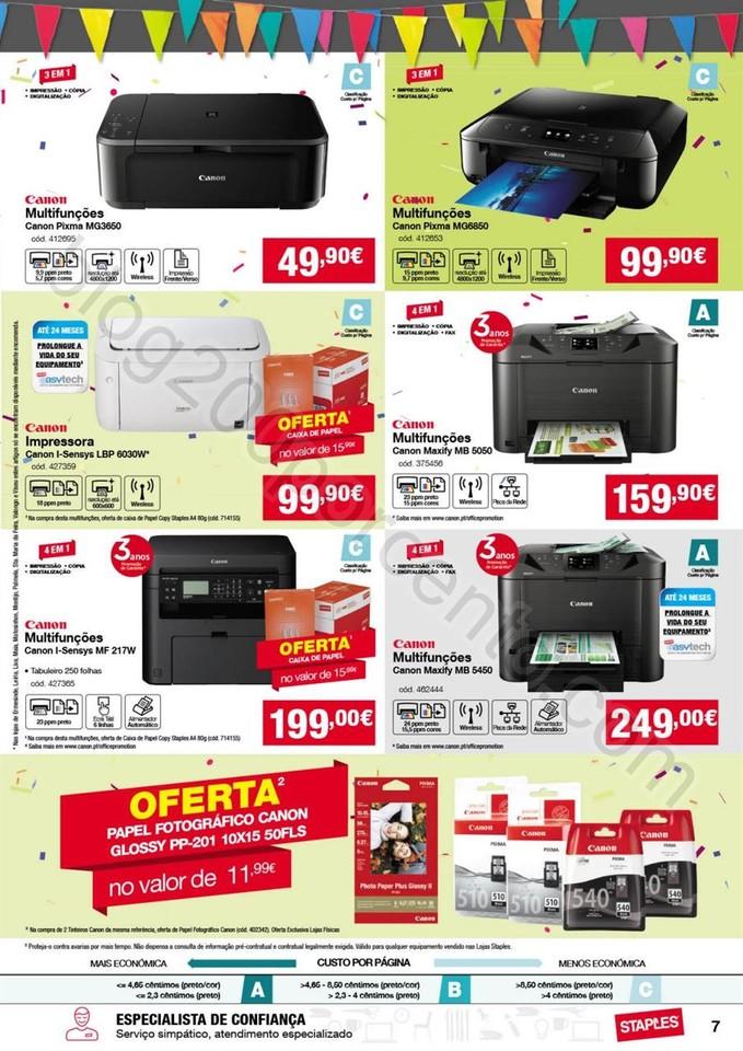 Antevisão Folheto STAPLES Promoções de 13 a 25