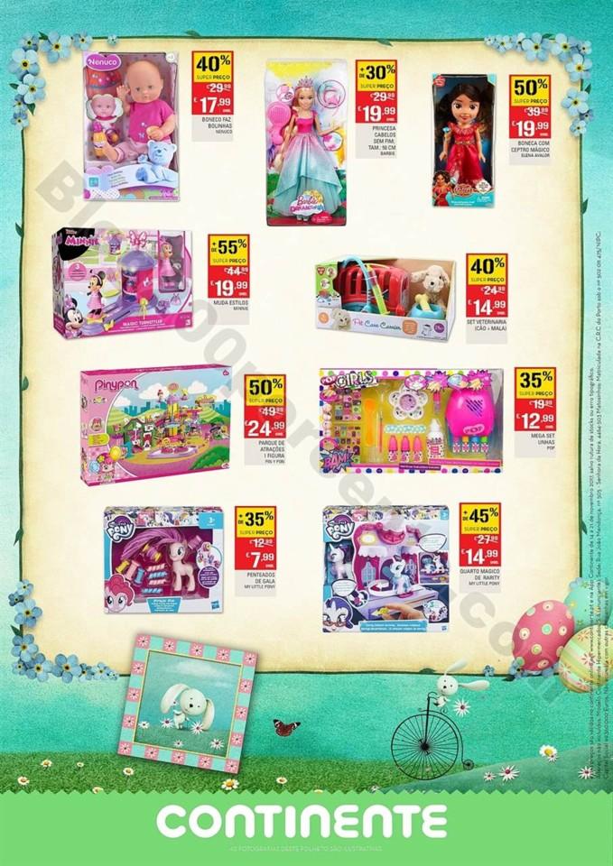 Folheto Promoções Continente brinquedos Antevisão 13a27 mar