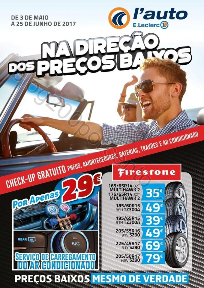 Antevisão Folheto E-LECLERC Auto promoções de 3
