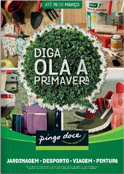 Novo Folheto | PINGO DOCE | Primavera de 6 a 19 março