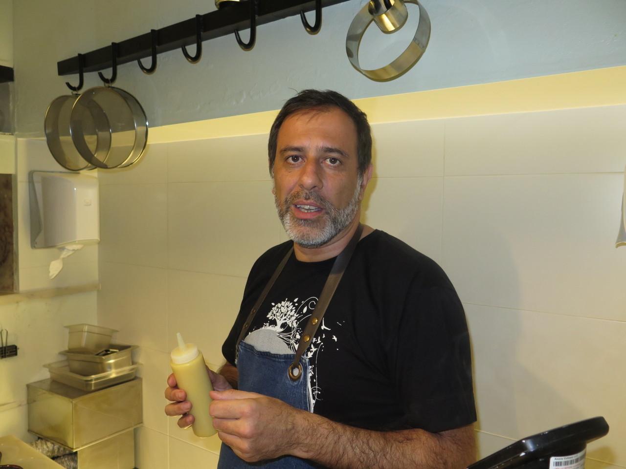 Miguel Pires e o limão