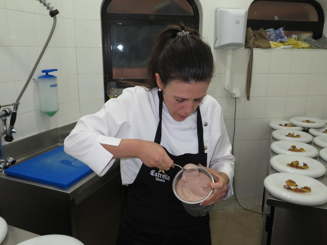 Nadia Carrasco e o Gelado de Noz Pecan