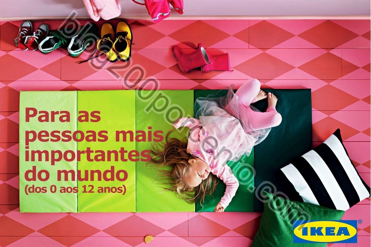 Antevisão Folheto IKEA Crianças promoções até