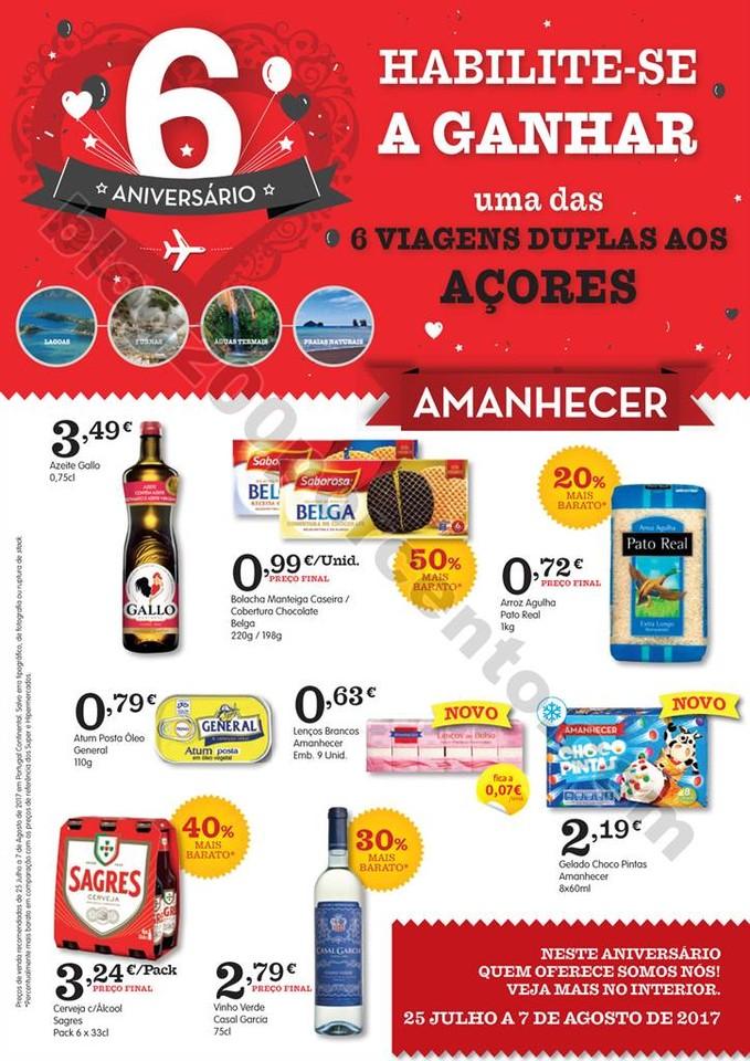 Antevisão Folheto AMANHECER Promoções de 25 jul