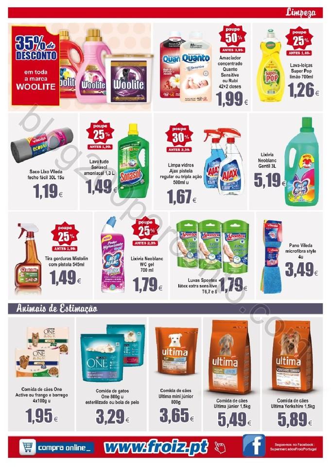 Novo Folheto FROIZ Promoções até 26 janeiro p12