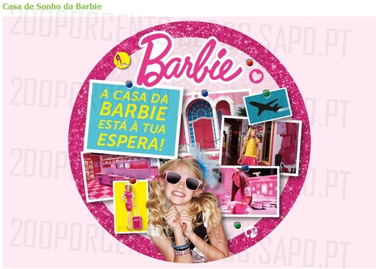 Passatempo | FNAC KIDS | Casa da Barbie