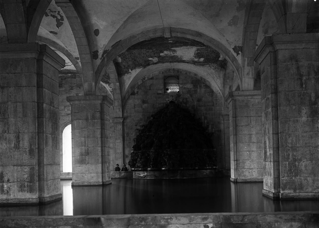 Reservatório da Mãe de Água nas Amoreiras, casc