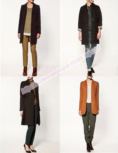 Casacos Zara Outono-Inverno. Em cima da esquerda ... 1acc0c13dba