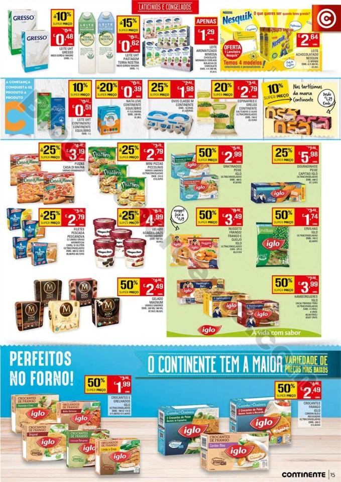 Antevisão Folheto CONTINENTE Promoções de 17 a
