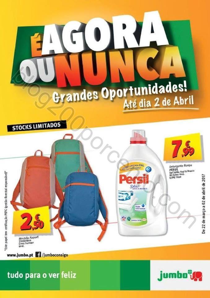 Antevisão Folheto JUMBO Oportunidades promoções