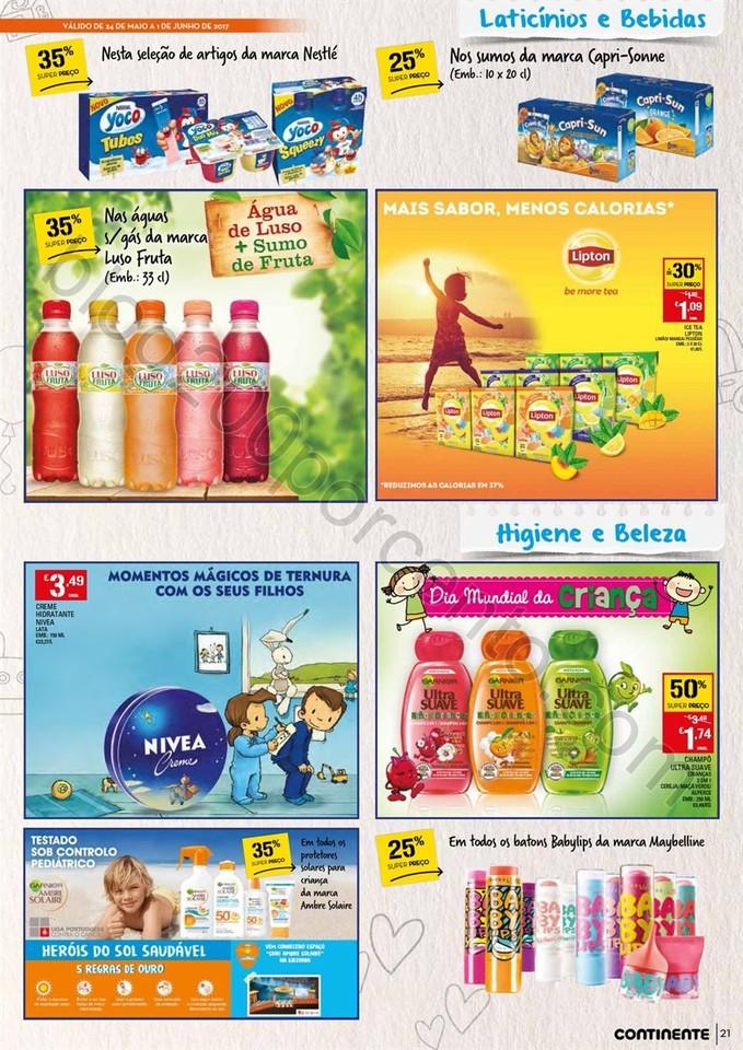 Novo Folheto CONTINENTE Madeira promoções de 24