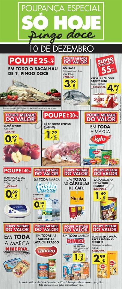 Antevisão Folheto Extra PINGO DOCE só hoje - 10