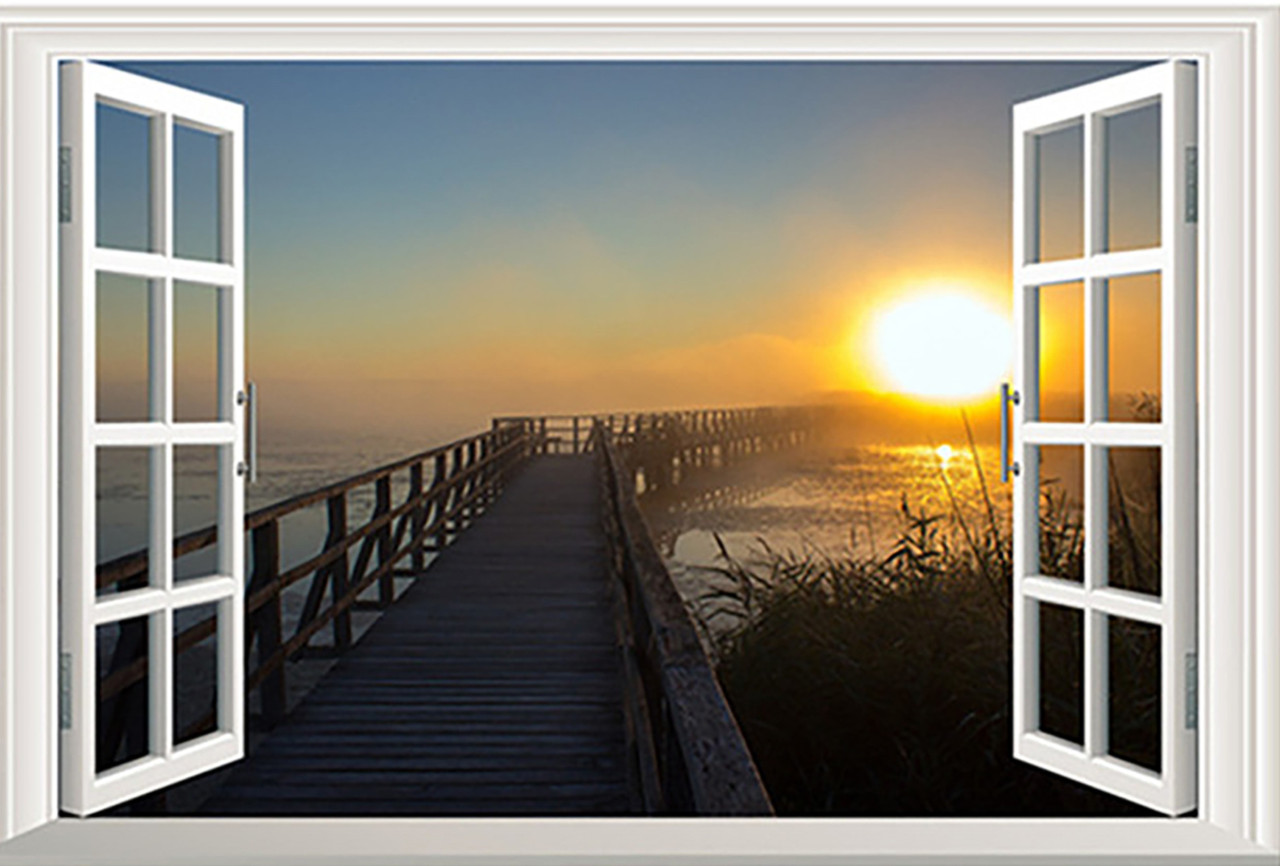 Vista-para-o-mar-De-Madeira-Ponte-Cais-Do-Sol-3d-j