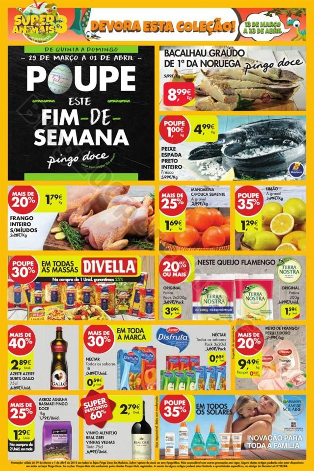 Antevisão Folheto PINGO DOCE Madeira 29 março a
