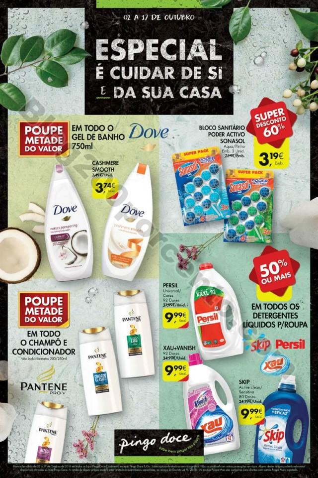 Antevisão Folheto PINGO DOCE Especial higiene e l