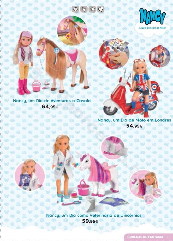 Antevisão Folheto Brinquedos Natal El Corte Ingl