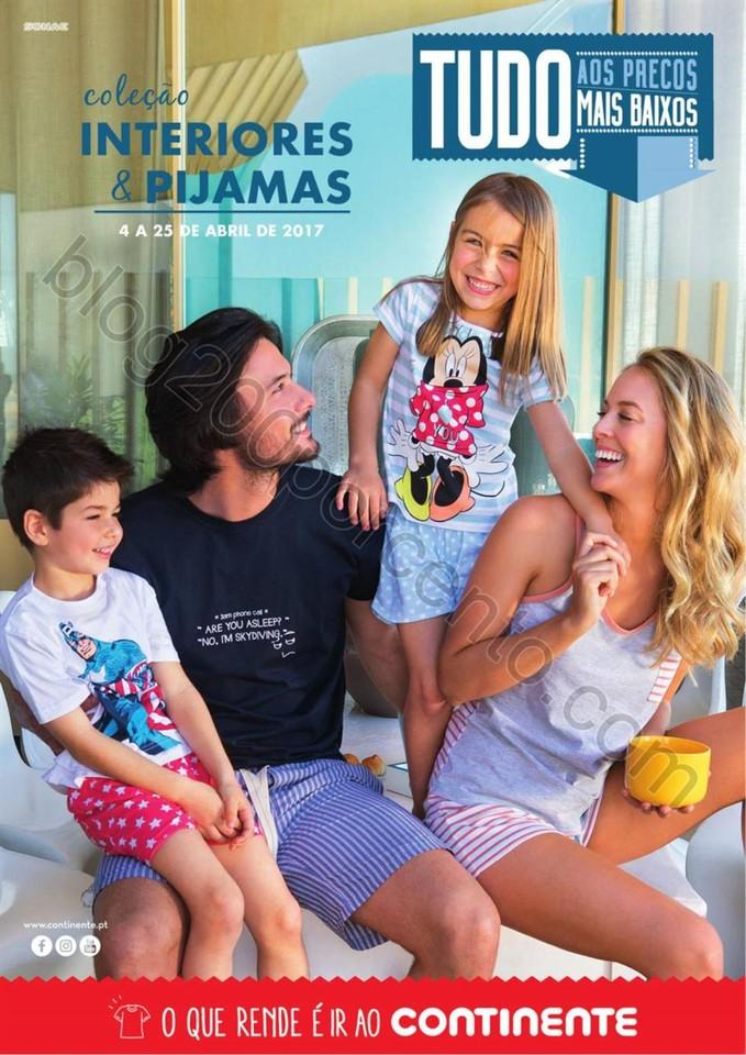 Antevisão Folheto CONTINENTE Moda Promoções de