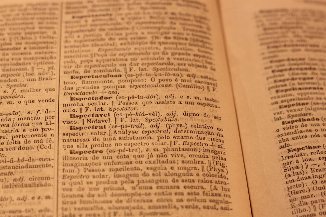 «Espectador», Diccionario Contemporaneo da Lingua Portugueza, 1.ª ed., Imprensa Nacional, Lisboa, 1881