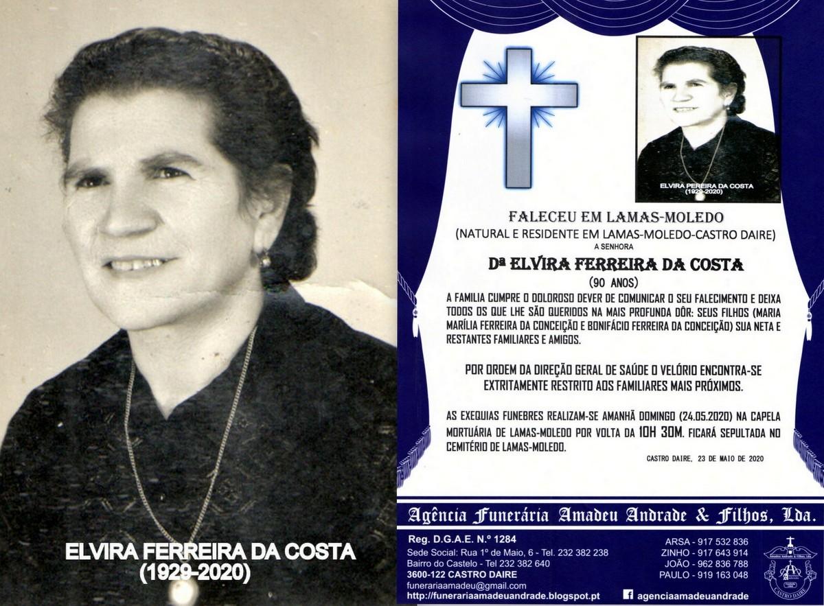FOTO DE ELVIRA FERREIRA DA COSTA-90 ANOS (LAMAS-MO