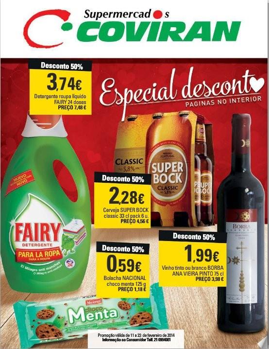 Antevisão folheto | COVIRAN | de 11 a 23 fevereiro