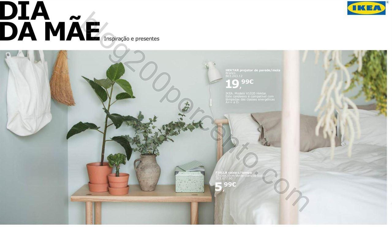 Antevisão Folheto IKEA Extra Dia da Mãe promoç