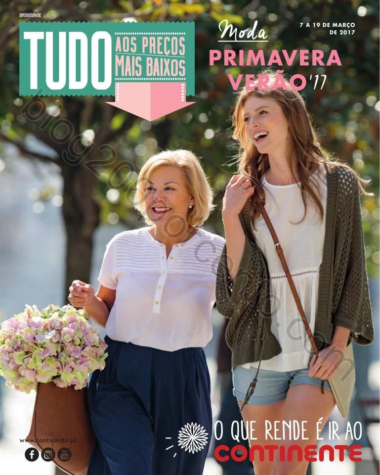 Antevisão Folheto CONTINENTE Primavera - Verão p