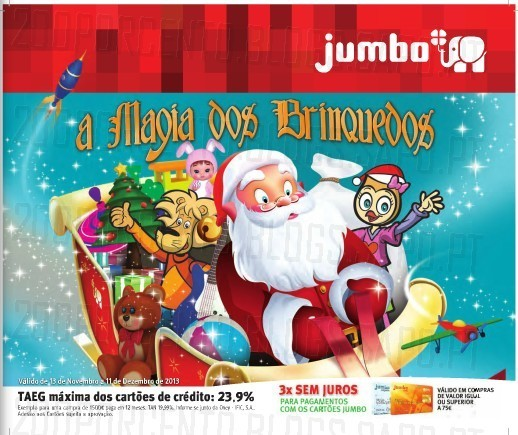 Novo Folheto / Catalogo | JUMBO | Magia dos Brinquedos, Online